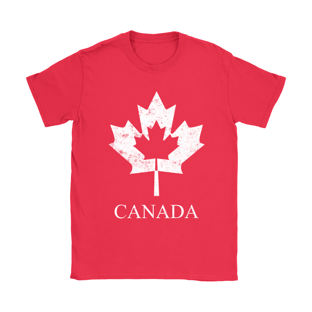 Canadian Flag, Flag of Canada, Canada Leaf Vintage Design