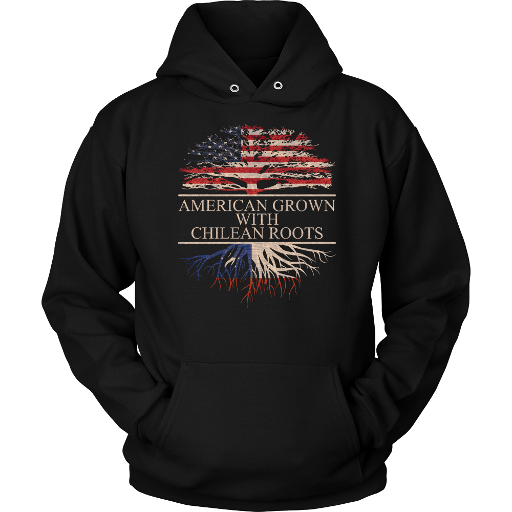 American Grown With Chilean Roots Hoodie