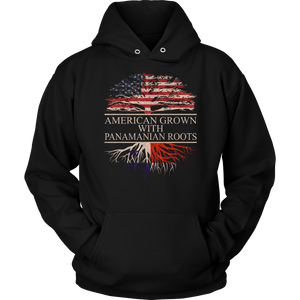 American Grown With Panamanian Roots Hoodie