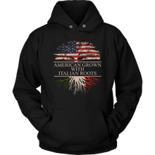 Load image into Gallery viewer, American Grown With Italian Roots Hoodie