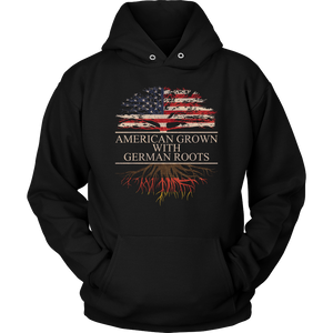 American Grown With German Roots Hoodie