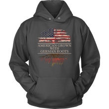 Load image into Gallery viewer, American Grown With German Roots Hoodie