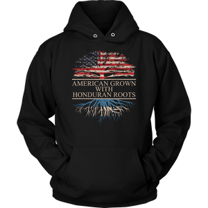 American Grown With Honduran Roots Hoodie