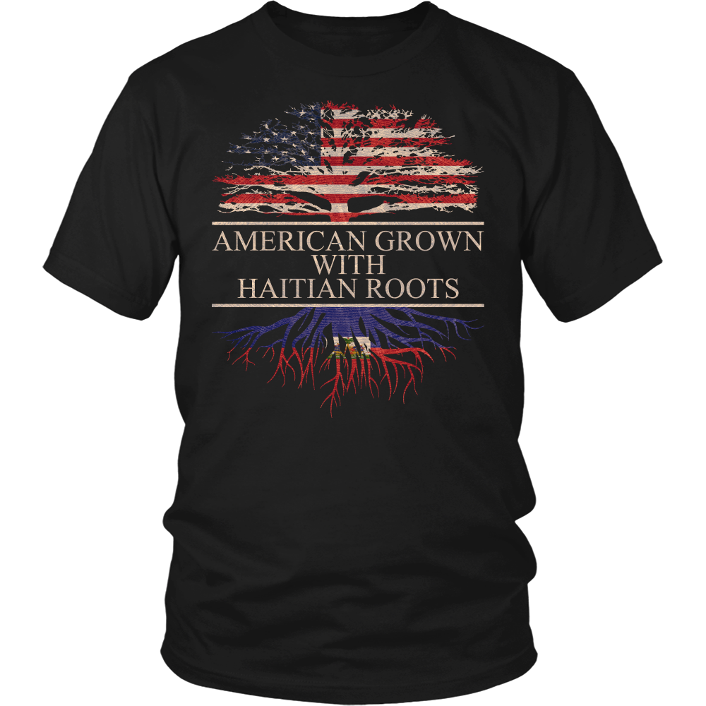 American Grown with Haitian Roots Shirt