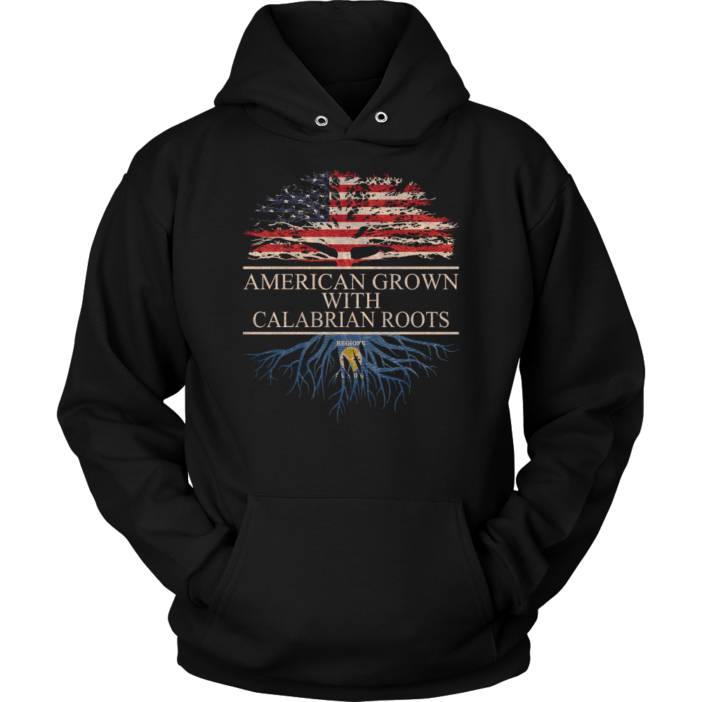 American Grown With Calabrian Roots Hoodie