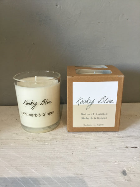 Kooky Blue Small Scented Candle