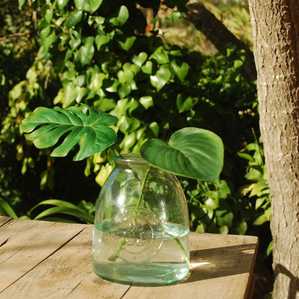 Recycled Glass Jar 1 Ltr