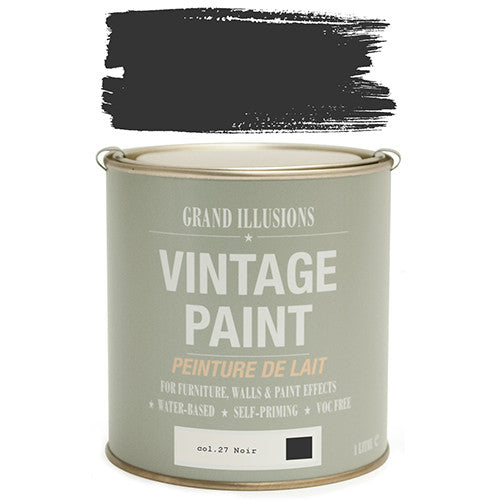 Vintage Paint No.27 Noir