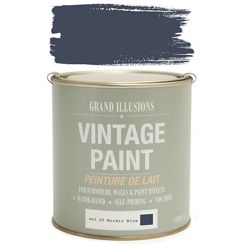 Vintage Paint No.23 Nordic Blue