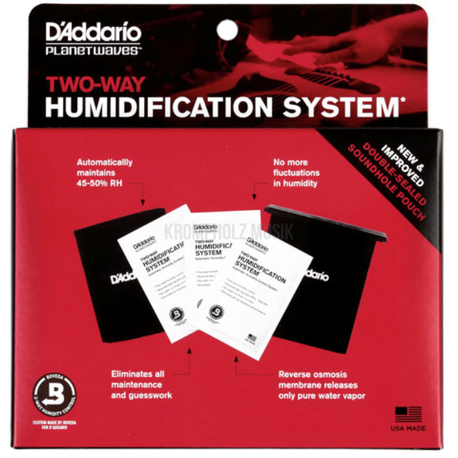 D'ADDARIO Two-Way Hummidification System - krompholz