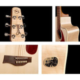 Performer Flame Maple QIT Cutaway - krompholz