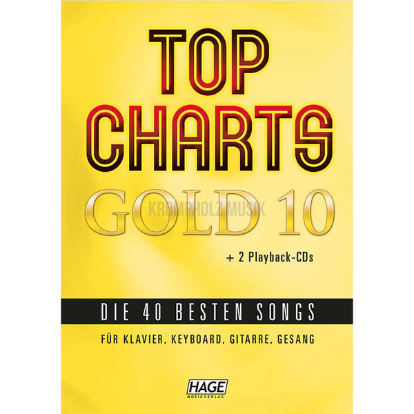 TOP CHARTS GOLD - Vol.10 - krompholz