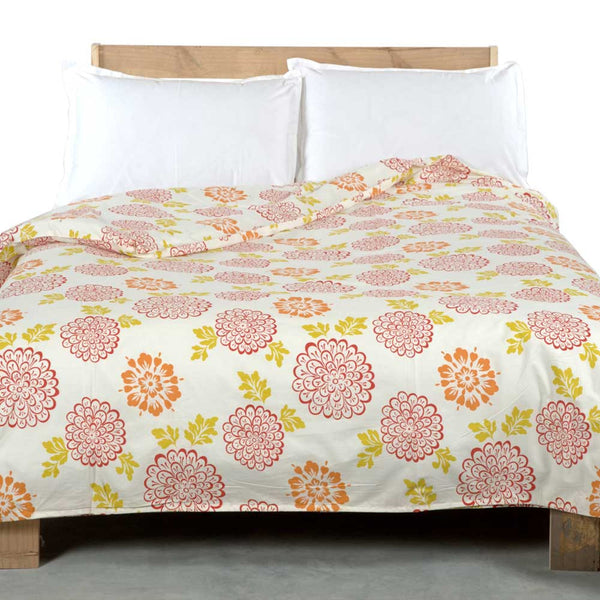 Mega Flower Cotton Duvet