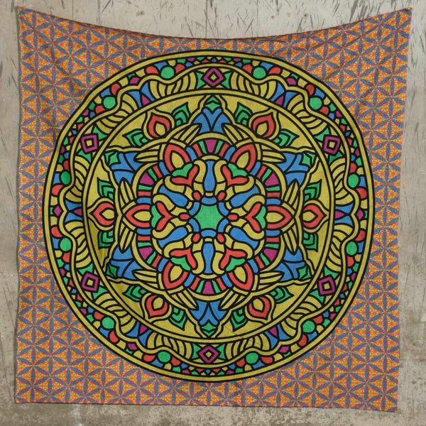 Gaelic Multi Colored Tapestry