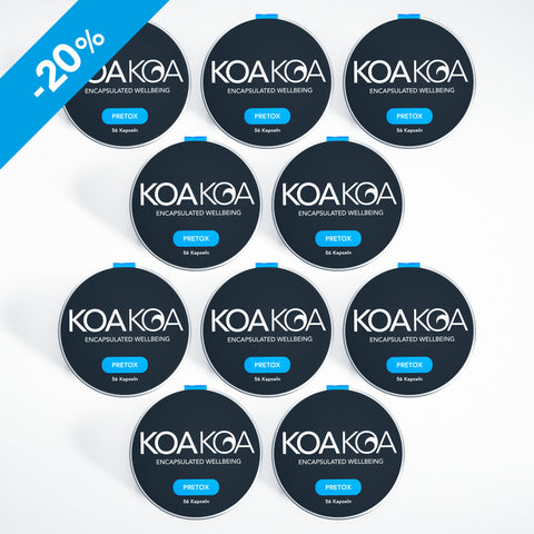 KOA KOA PRETOX | Party Package 3 | Set of 10: