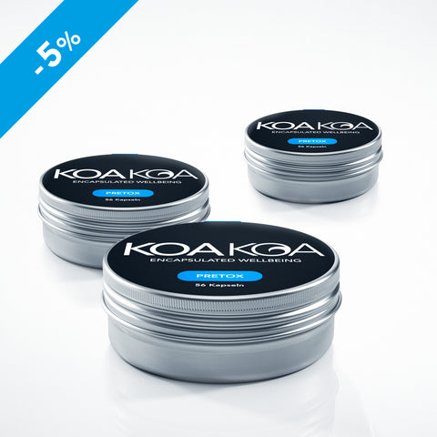 KOA KOA PRETOX | Party Package 1 | Set of 3: