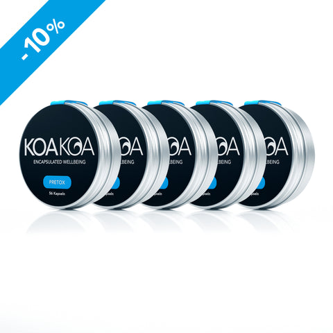 KOA KOA PRETOX | Party Package 2 | Set of 5: