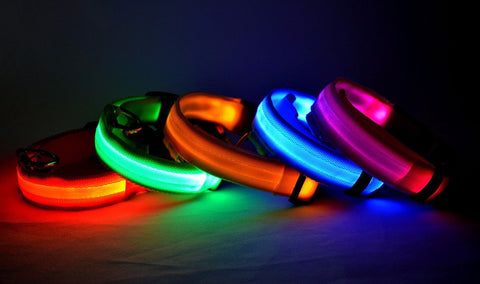 Collier lumineux LED