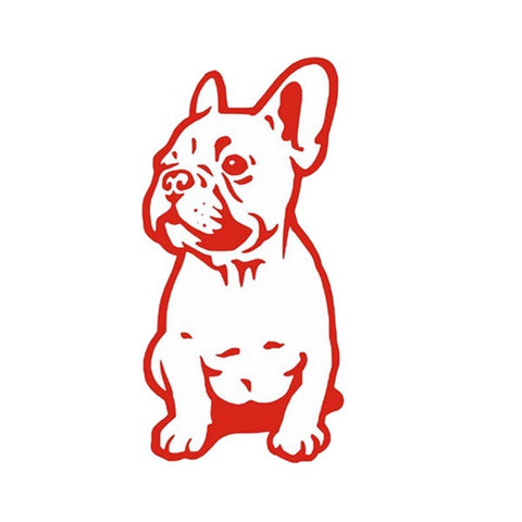 Sticker Autocollant French Bulldog