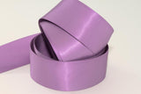 25mm Double Sided Satin Personalised Ribbon - Pinks, Purples, Blues, Reds and Greys