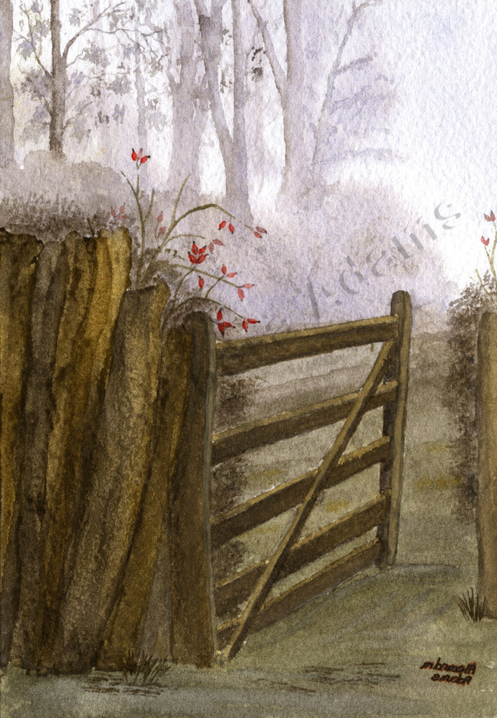 Old Farm Gate