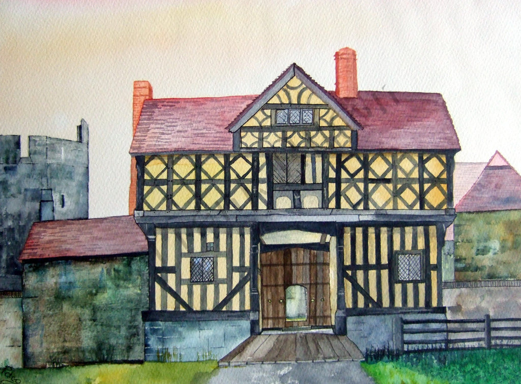 The Gatehouse, Stokesay Castle