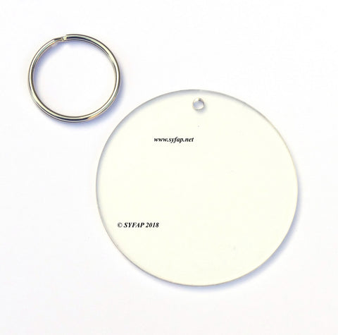 Disc - Keyring ( 75mm )