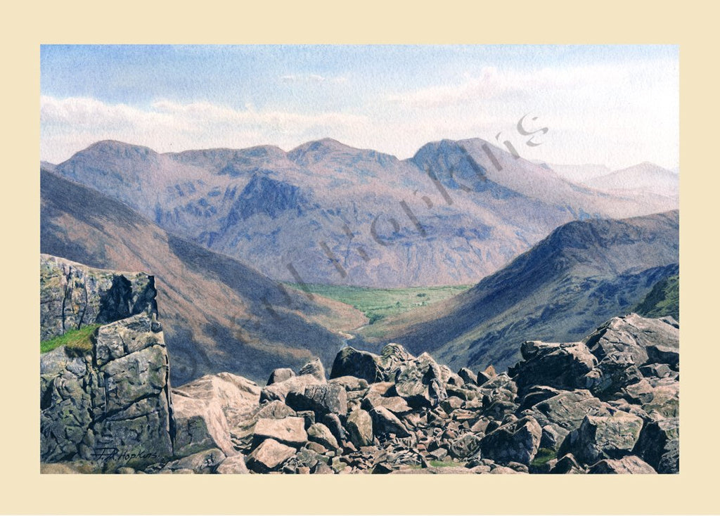 Scafell from Pillar