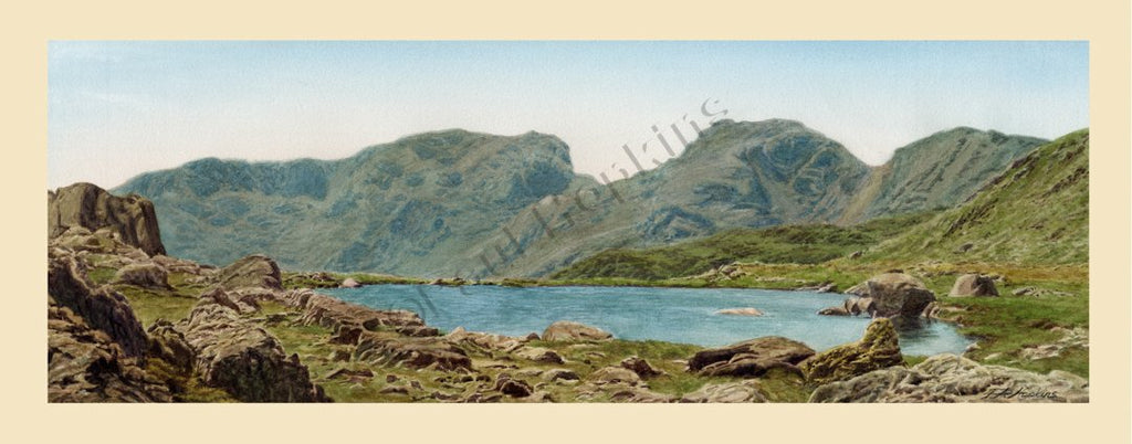 Scafell from Three Tarns