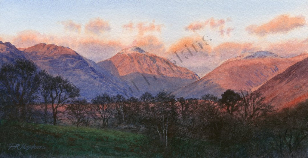 Wasdale at Sunset