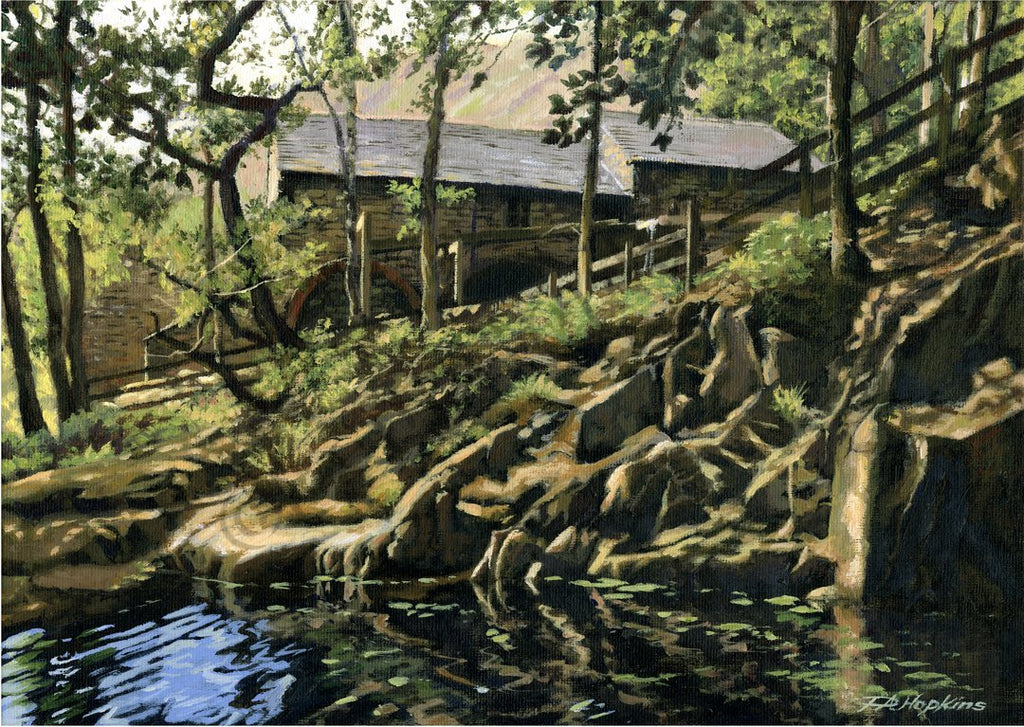 Watermill at Boot