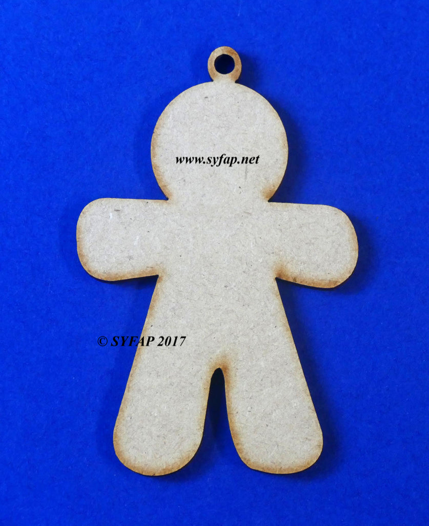 Gingerbread Man (5 per pack)
