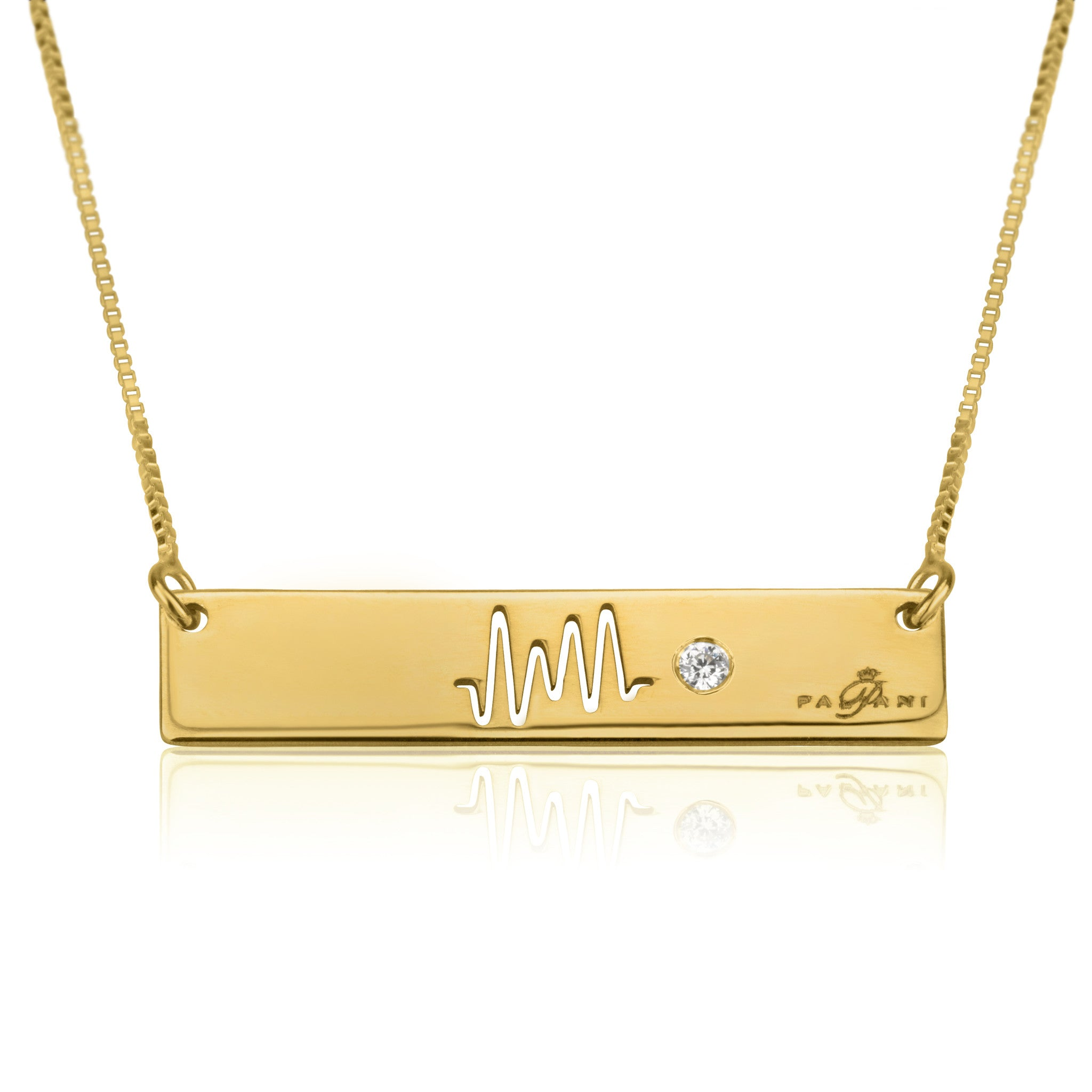 neha jewellery gold double oliver rectangle bonas necklace