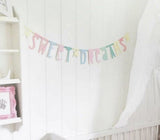 Letter Banner Colores A Little Lovely Company
