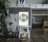Poster Lightbox madera A Little Lovely Company