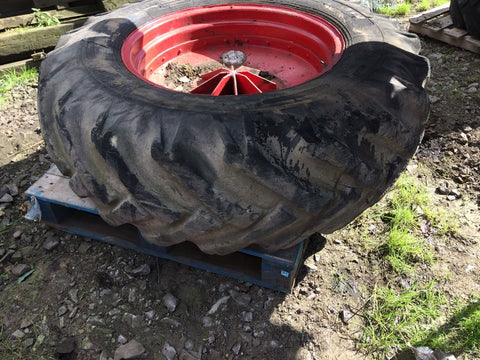 JCB 3C Rear Wheels - Ryan Cole Machinery