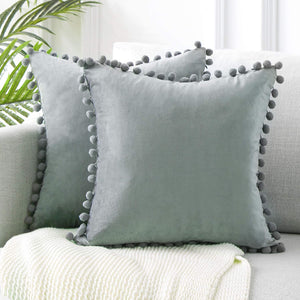 Top Finel Cream Decorative Throw Pillow Covers Pack of 2