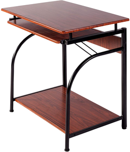 OneSpace Stanton Computer Desk, Cherry Red
