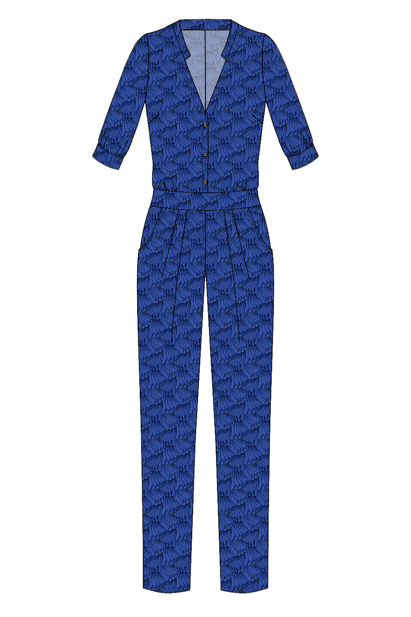 Jumpsuit Bari / Pleats