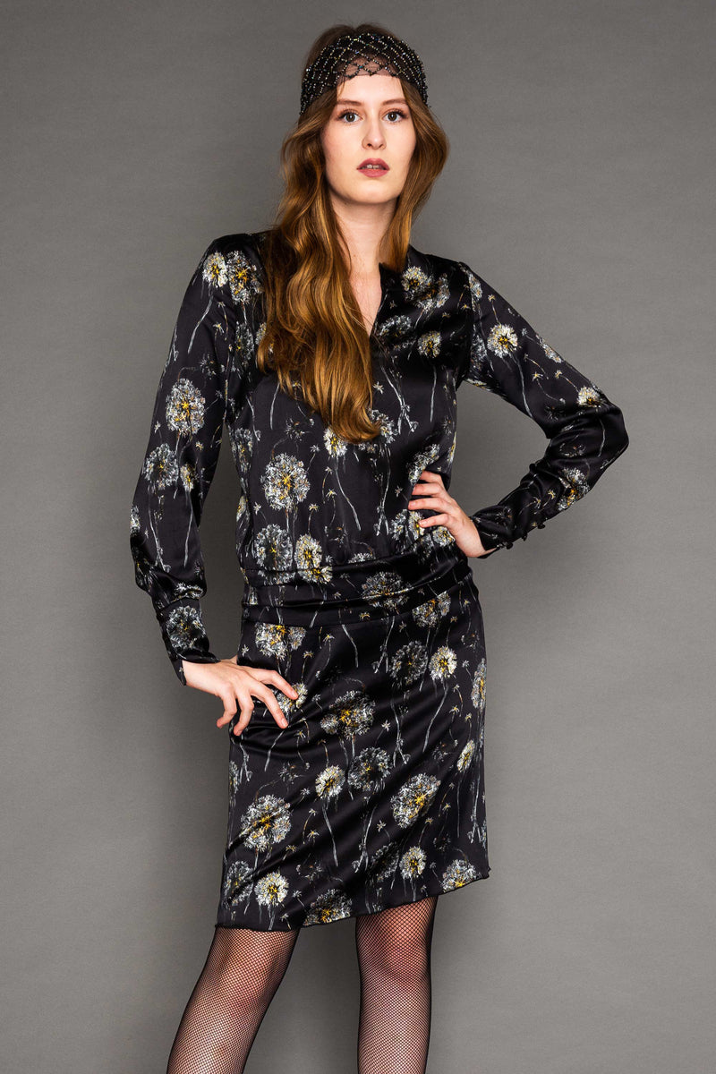 Dress Bellevue Silk / Soffione