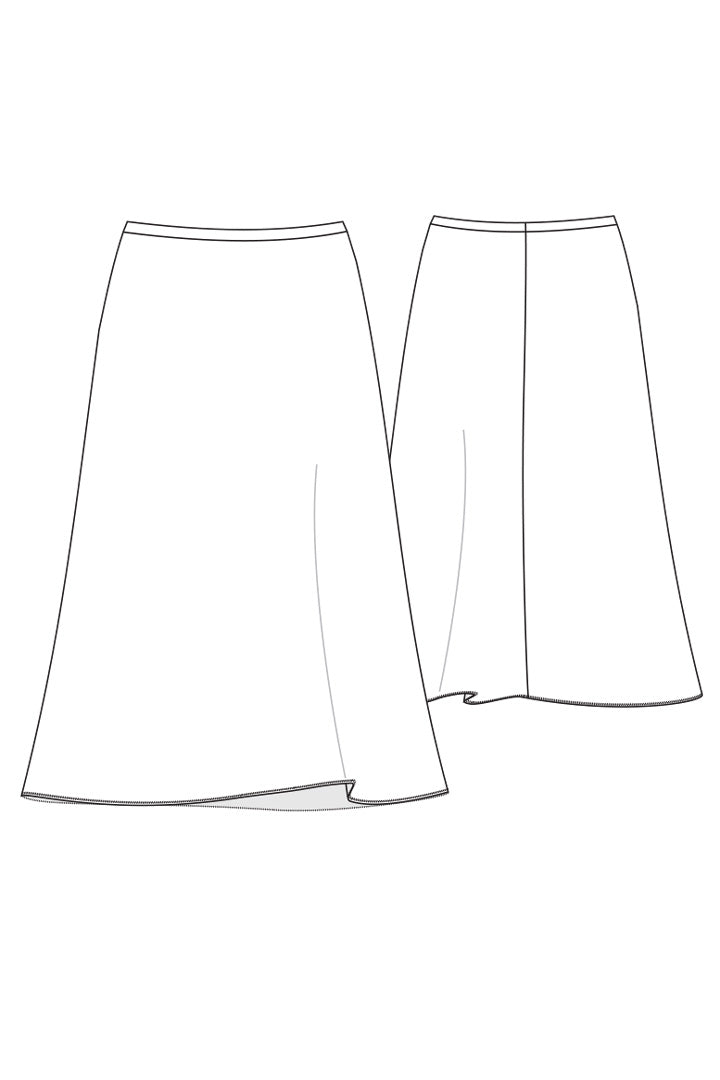 Skirt Ravello / Pleats