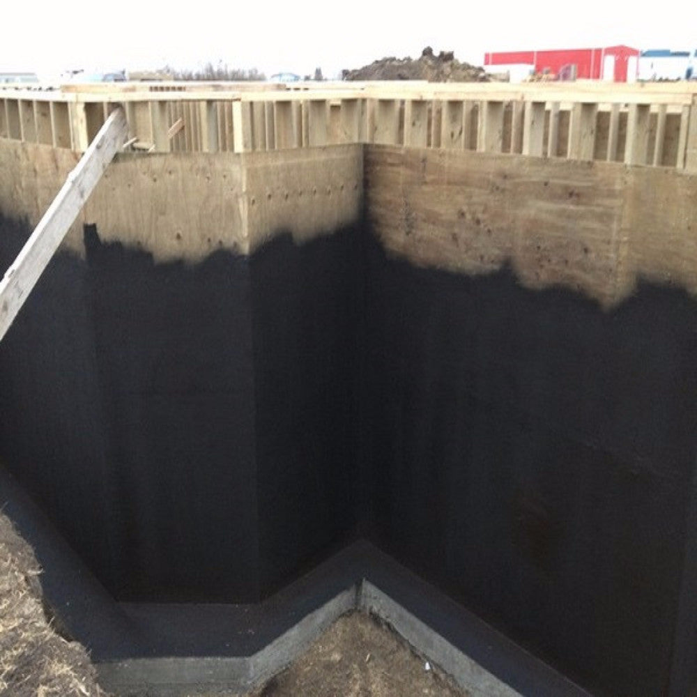 Foundation sealant basement waterproofing membrane - Silicone paint for exterior walls ...