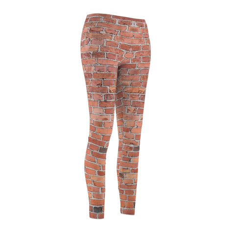 Casual Leggings - Brick Print - Aardvark Tees - Tees that Please