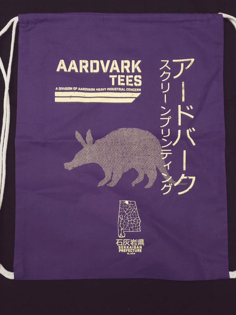 z Aardvark Heavy Industrial - Kaiju Fan Drawstring Backpack