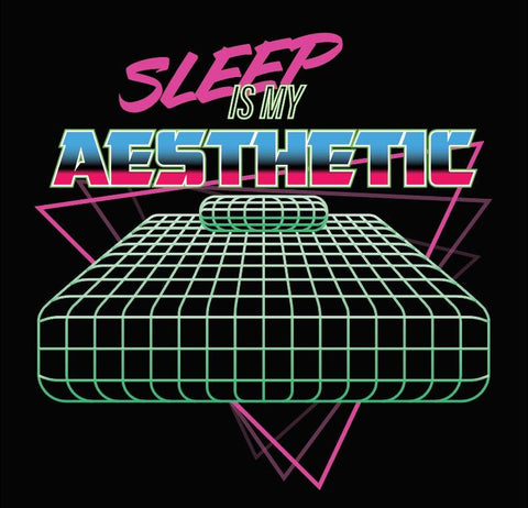 Sleep is My Aesthetic - Vaporwave T-Shirt