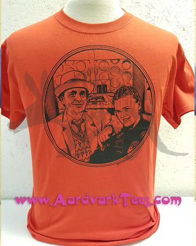 7th Doctor - Sylvester McCoy - Ace - Fans of The Doctor Handprinted Tee - T-shirts - Aardvark Tees