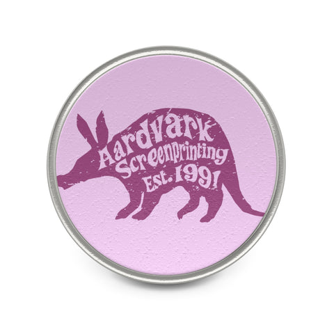 Round Pin - Tie Tack - Aardvark Screenprinting Official! - Aardvark Tees - Tees that Please