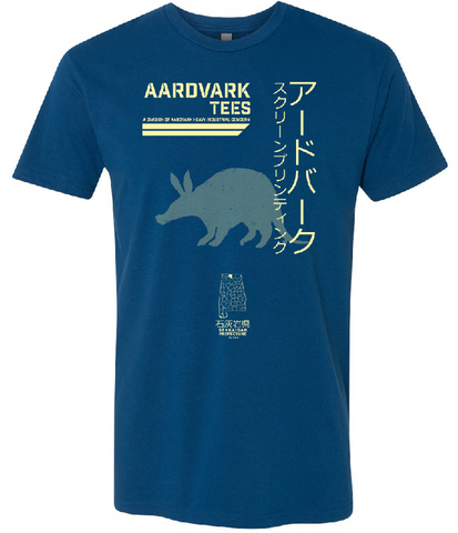 Aardvark Heavy Industrial - Kaiju Fan Tee - Aardvark Tees - Tees that Please