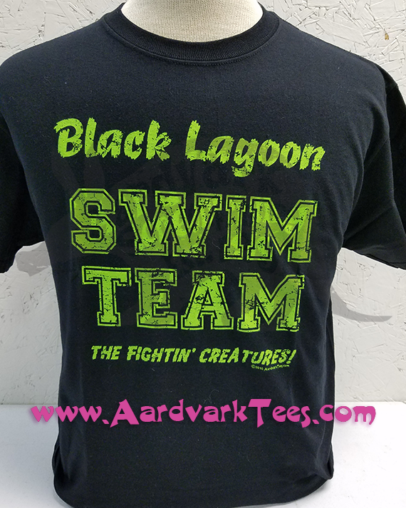 Black Lagoon Swim Team - Aardvark Tees - Tees that Please