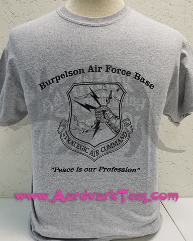 Burpleson AFB - Doctor Strangelove Fan Tee - Aardvark Tees - Tees that Please